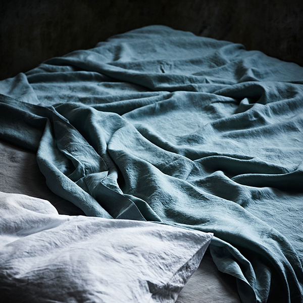 Indigo Bed Linen Part - 44: Indigo Bedding Set (King)