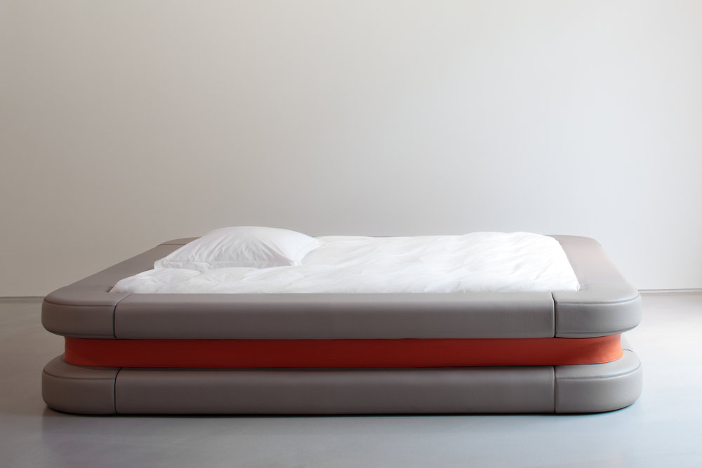 Les Ateliers Courbet_Marc Newson Bed by Domeau Peres