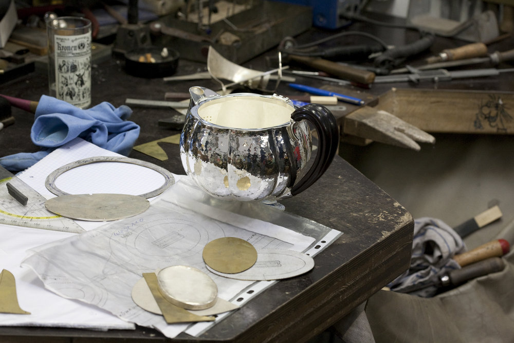 Wiener Silber Manufactur Les Ateliers Courbet Silver Vienna