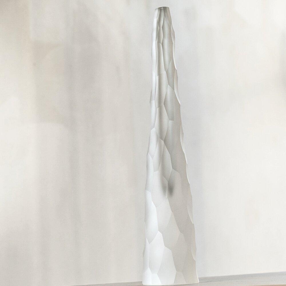 Uberlegen Venini Les Ateliers Courbet Giorgio Vigna Vase Crystal Glass Sculpture  Modern Siderale
