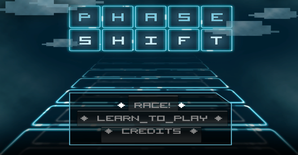 Phase Shift Title Screen