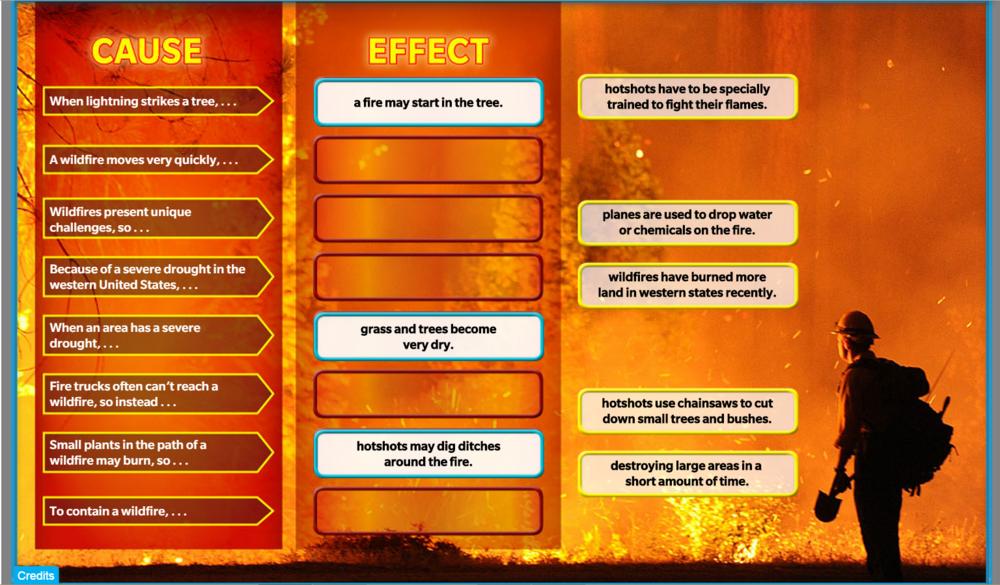 Battling Blazes (partial fill-in)