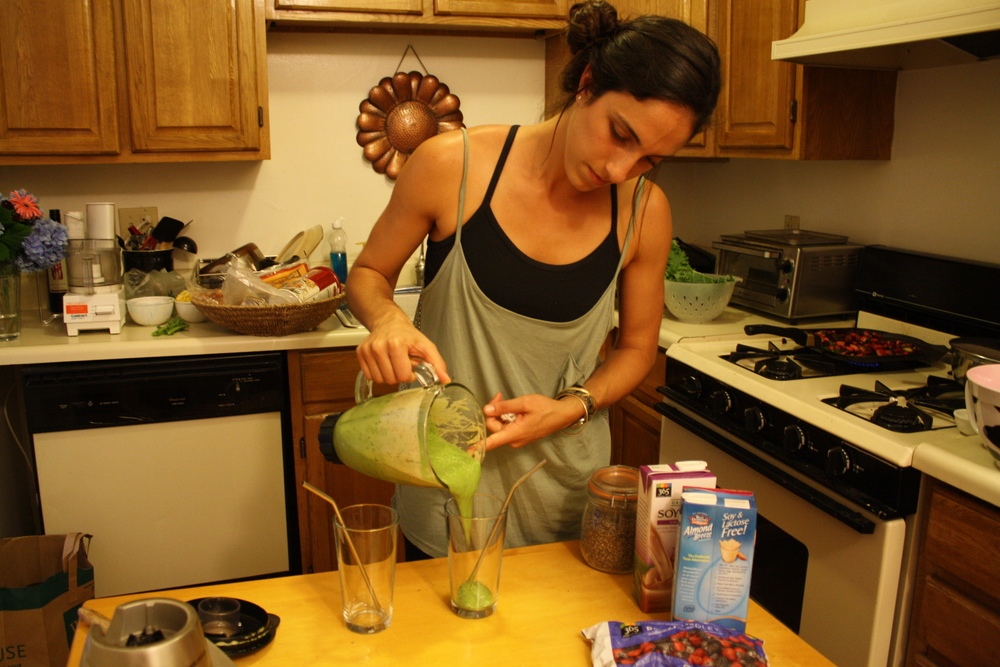 lauren green smoothie