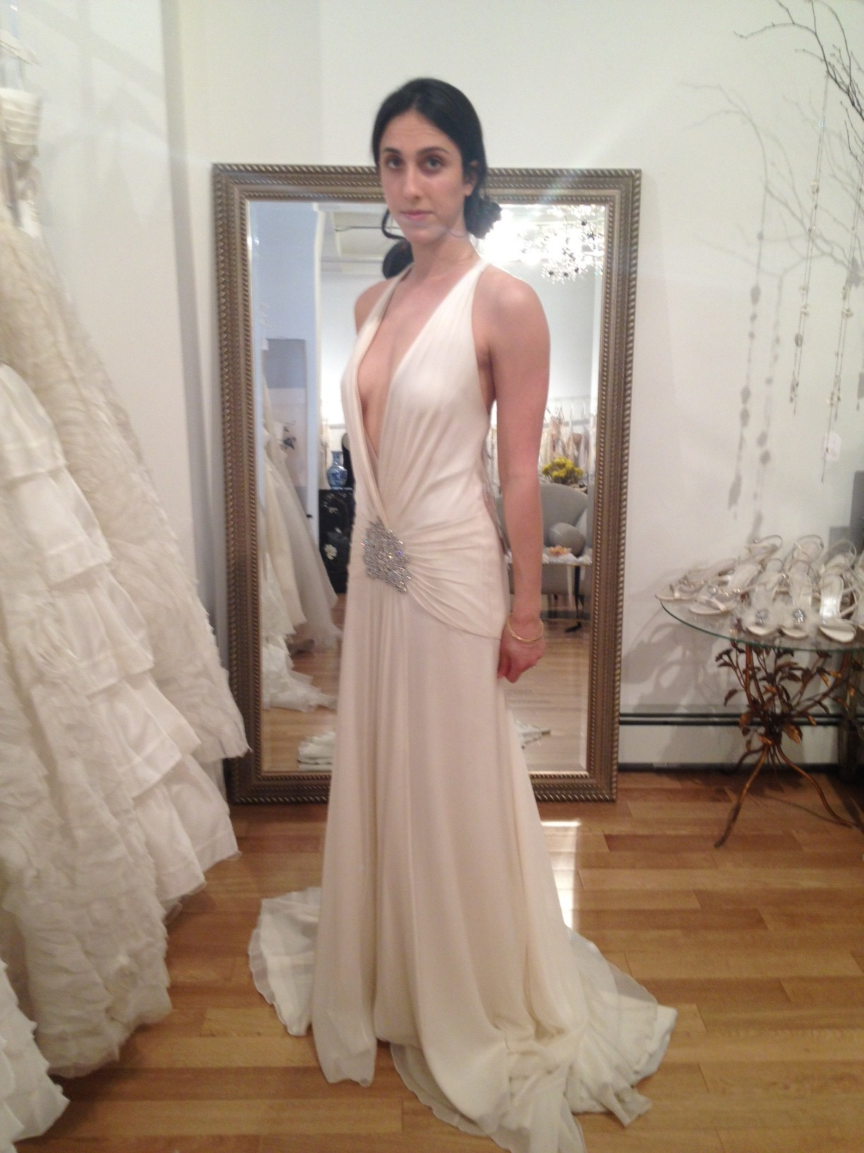 Bride arms and a wedding dress to go with them. — Lauren Hefez