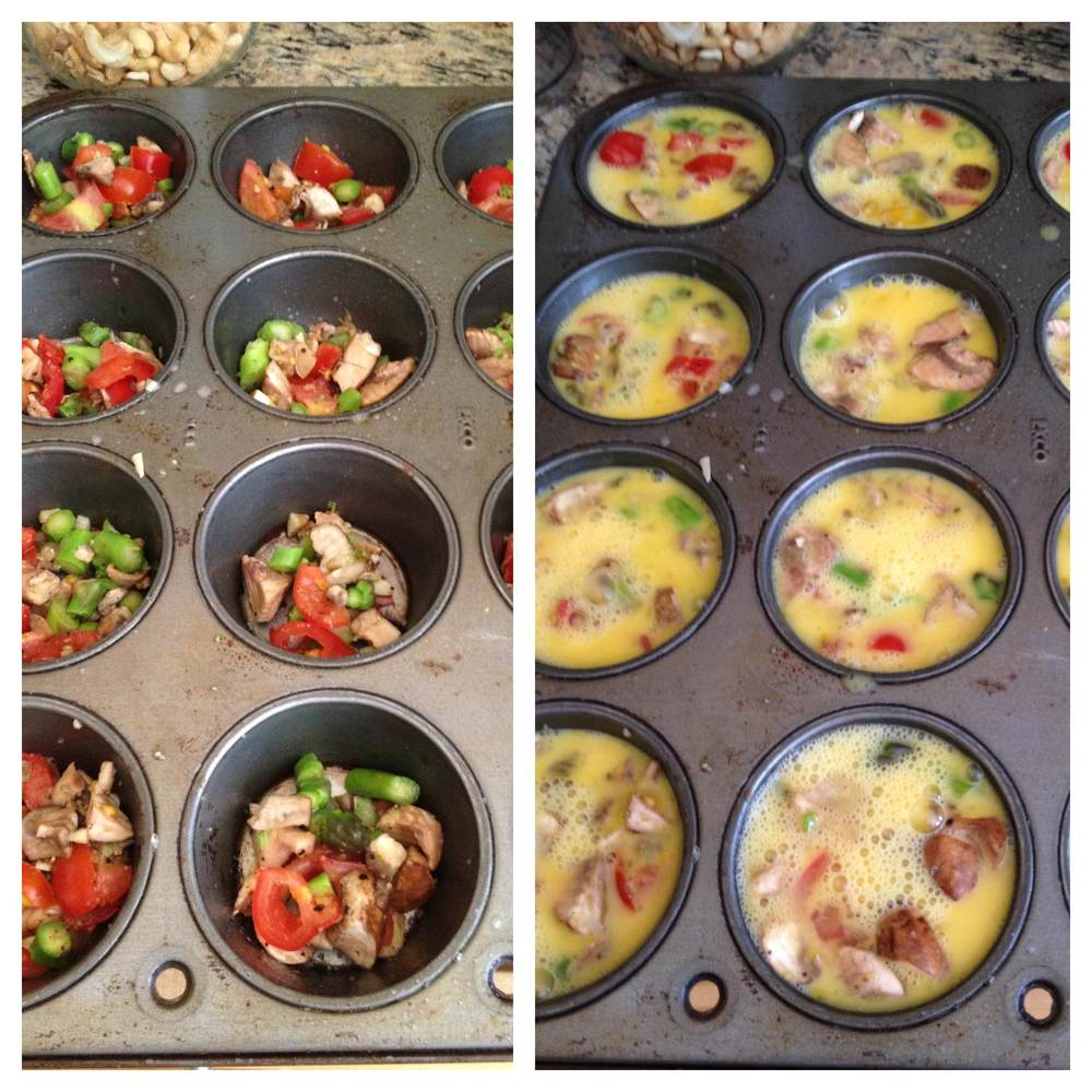 Muffin Tin Baked Eggs Recipe GREAT Breakfast For The On Go