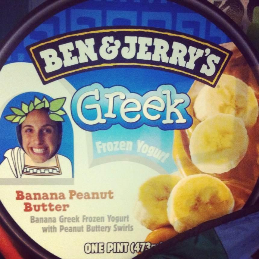 greek fozen yogurt