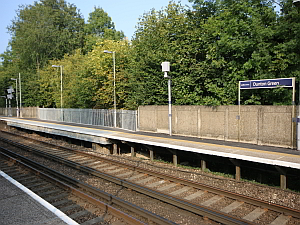 Dunton Green Station  Platform Enhancement & Rebuild
