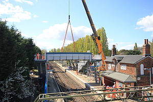 Weeley Station  Footbridge Replacement & Platform Enhancement