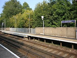dunton green station  PLATFORM ENHANCEMENT & REBUILD