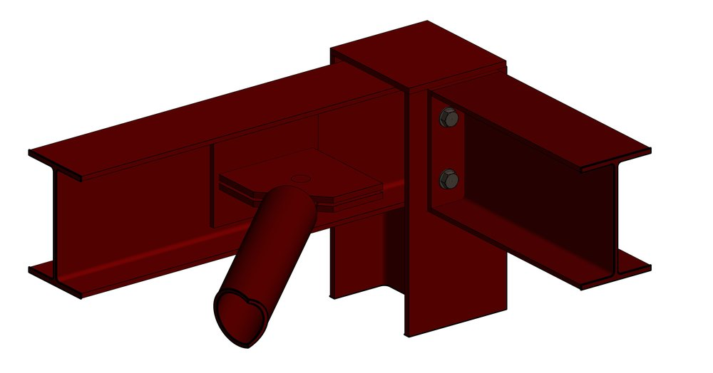 ENG-DWG-VED-VC0503 - 3D View - 3D VIEW - BRACING CONNECTION DETAIL.jpg