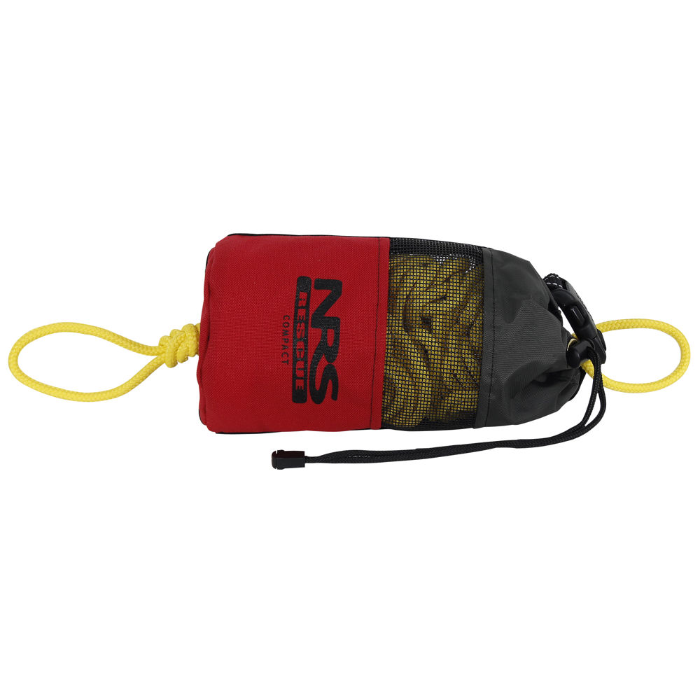 Smaller Rescue Bags can be thrown quicker with more precision for rescue.  Accompanied by static ropes (on all guided whitewater trips) for rescue situations, this provides guides with the tools they need to perform the fastest and most efficient rescue possible.