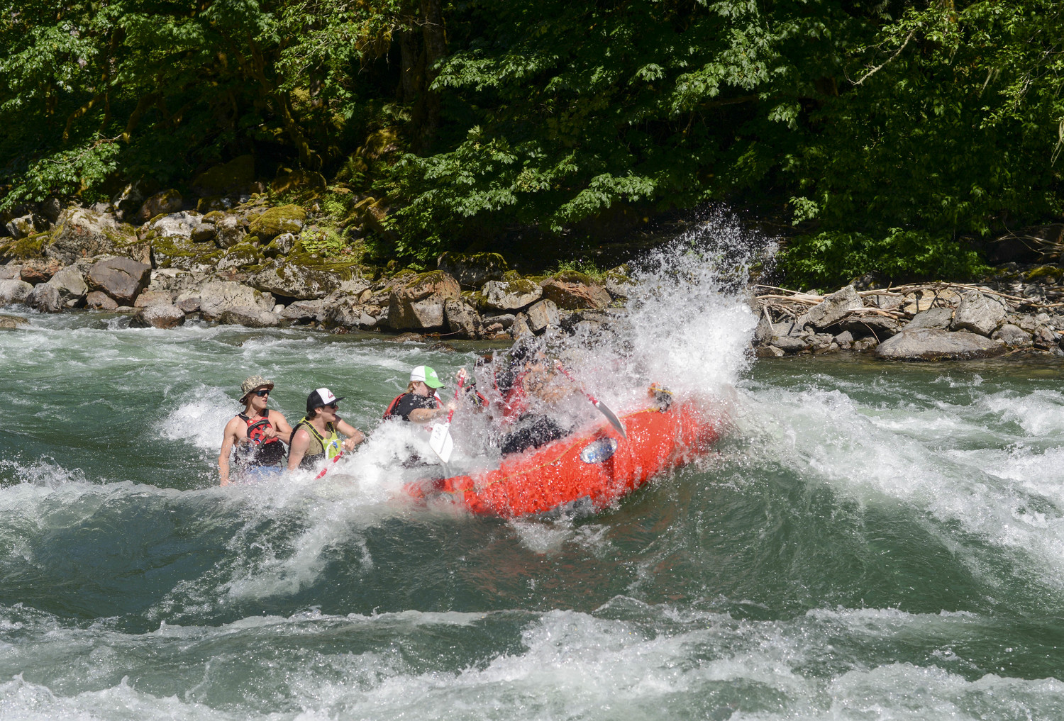 facf5db6dec2 The Wenatchee River is a Class 3 Whitewater River near Leavenworth  Washington. We offer guided river rafting trips in the North Cascades on  the Wenatchee ...