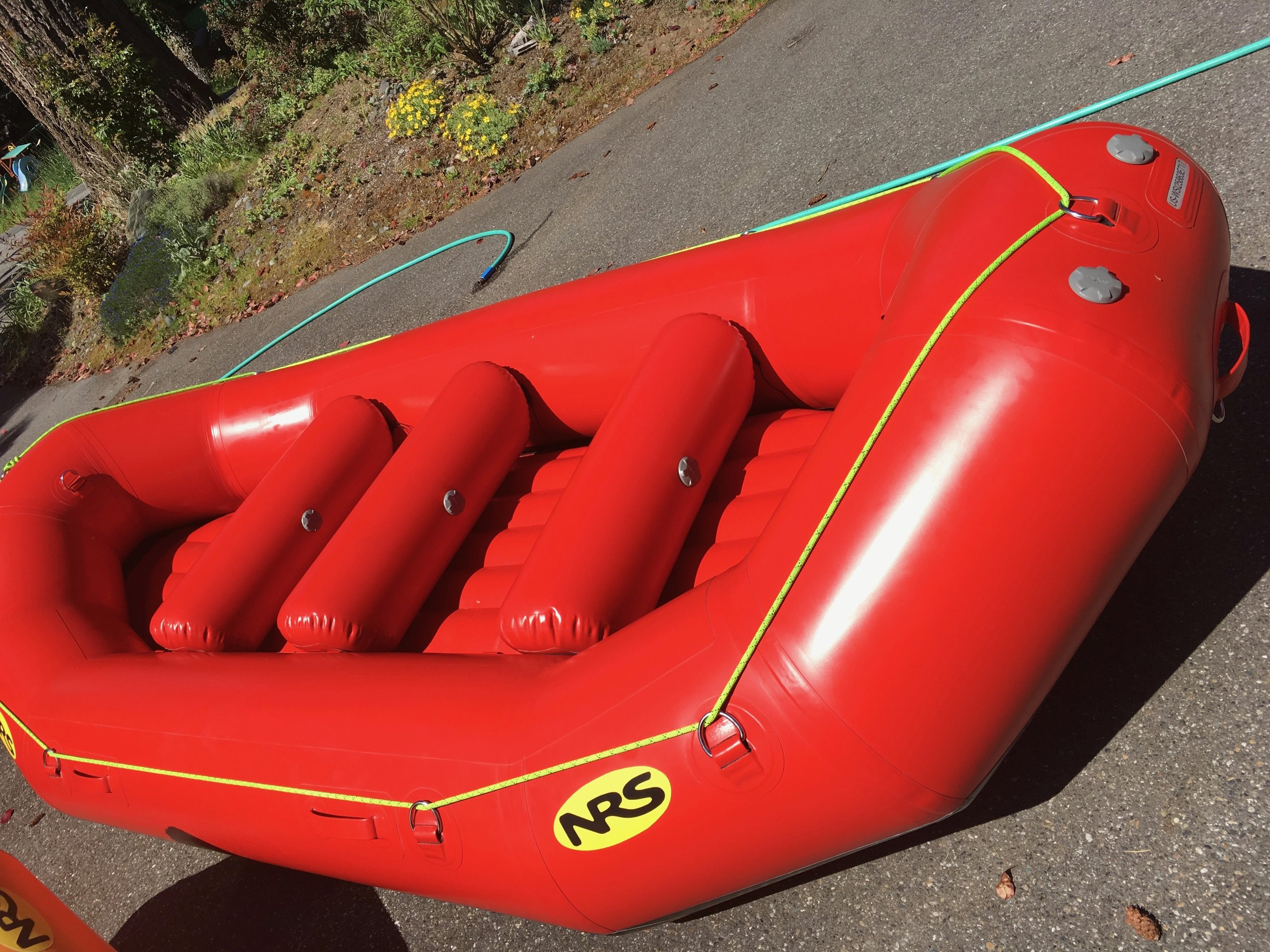 13 foot whitewater raft comparison shootout — Seattle White