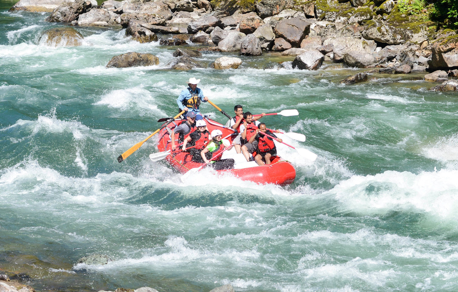 14 foot whitewater raft comparison shootout — Seattle White Water
