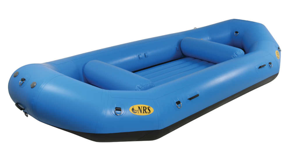 The NRS E-150 whitewater raft. Source: https://www.nrs.com/product/1088/nrs-e-150-self-bailing-rafts