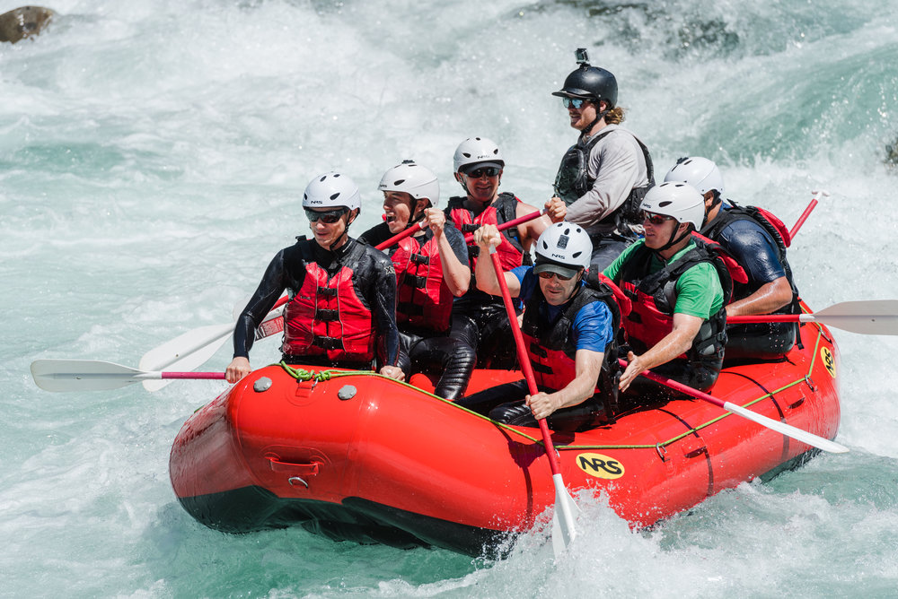 whitewater rafting class 4-5 Skykomish near Seattle