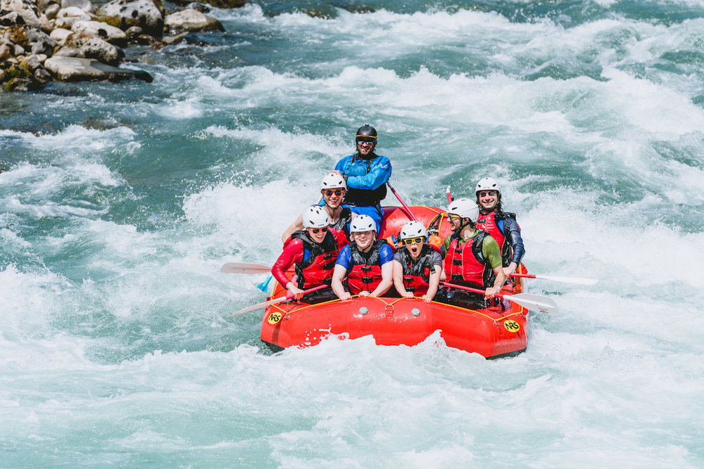 whitewater rafting class 3