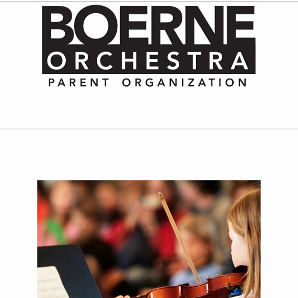 www.boerneorchestra.com site is live and coming together...