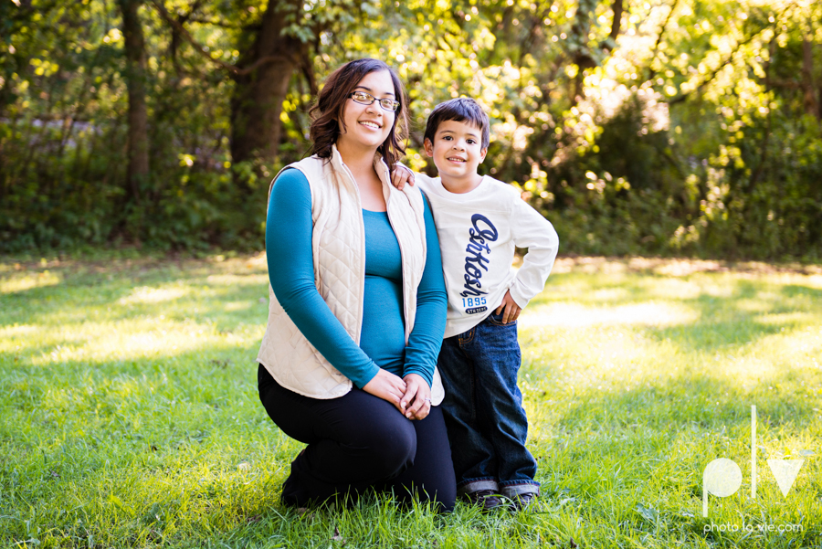Alvarado Valdez Christmas Family Portrait Session Rose Park Mansfield boy field grass Sarah Whittaker Photo La Vie-1.JPG