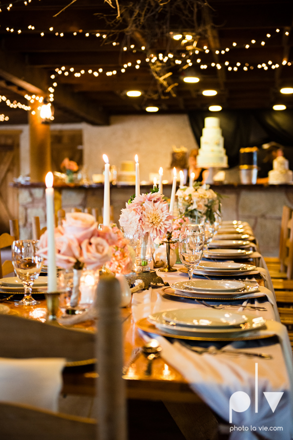 Brittany Garrett Simmons Wedding Weatherford Lucia Bitnar Foster Blue barn rustic blue dessert Sarah Whittaker Photo La Vie-25.JPG