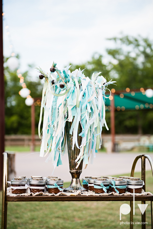 Brittany Garrett Simmons Wedding Weatherford Lucia Bitnar Foster Blue barn rustic blue dessert Sarah Whittaker Photo La Vie-38.JPG