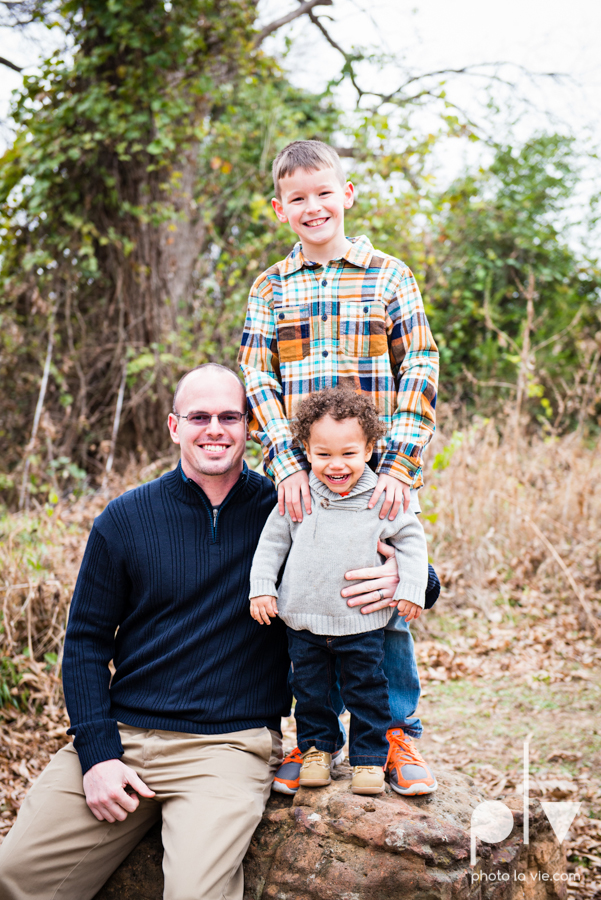Lukens Family Mini Portrait Session December winter park walk fence log kids small Sarah Whittaker Photo La Vie-2.JPG