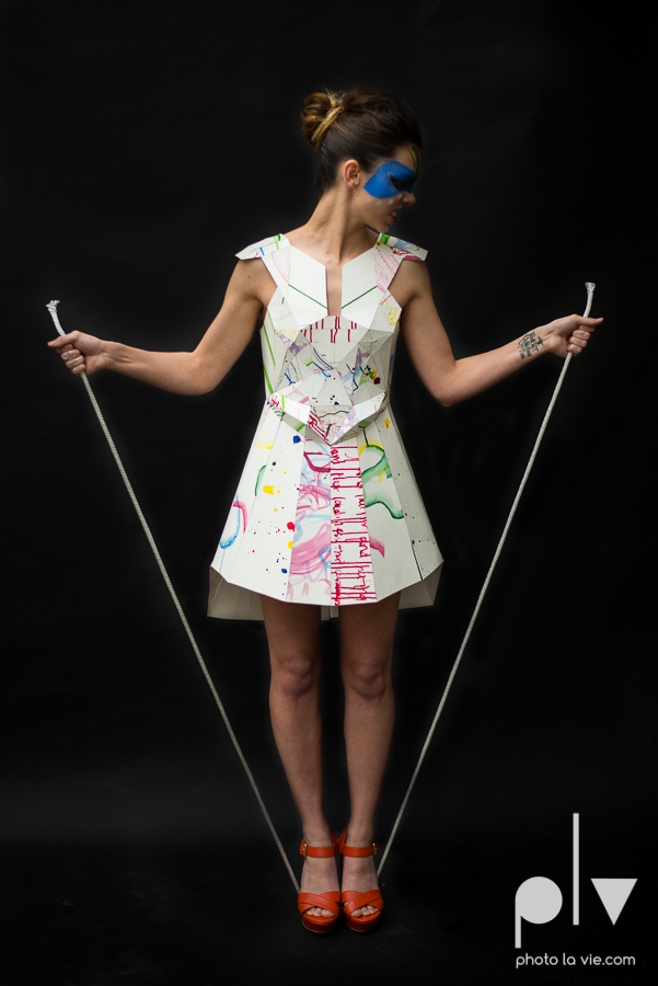 Erica Model Paper Dress geometric editorial fashion haute couture Secret make up Photo La Vie by Sarah Whittaker-5.JPG