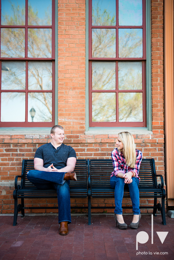 Ashley JD Jonathon Engagement Plano downtown historic couple chili urban walls vintage Sarah Whittaker Photo La Vie-4.JPG