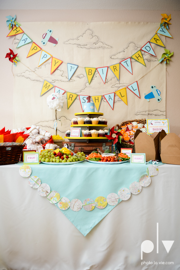 Dainty Dahlias first birthday baby boy airplane maps banners event Photo La Vie-6.JPG
