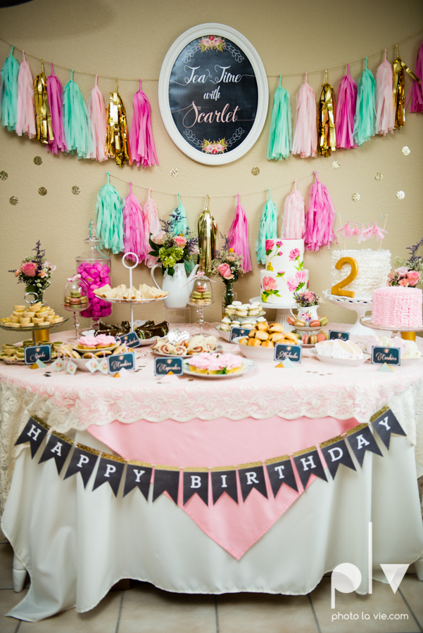 Scarlett birthday tea party 2 girl cookies cake Dainty Dahlias DFW Dallas Fort Worth Sarah Whittaker Photo La Vie-23.JPG