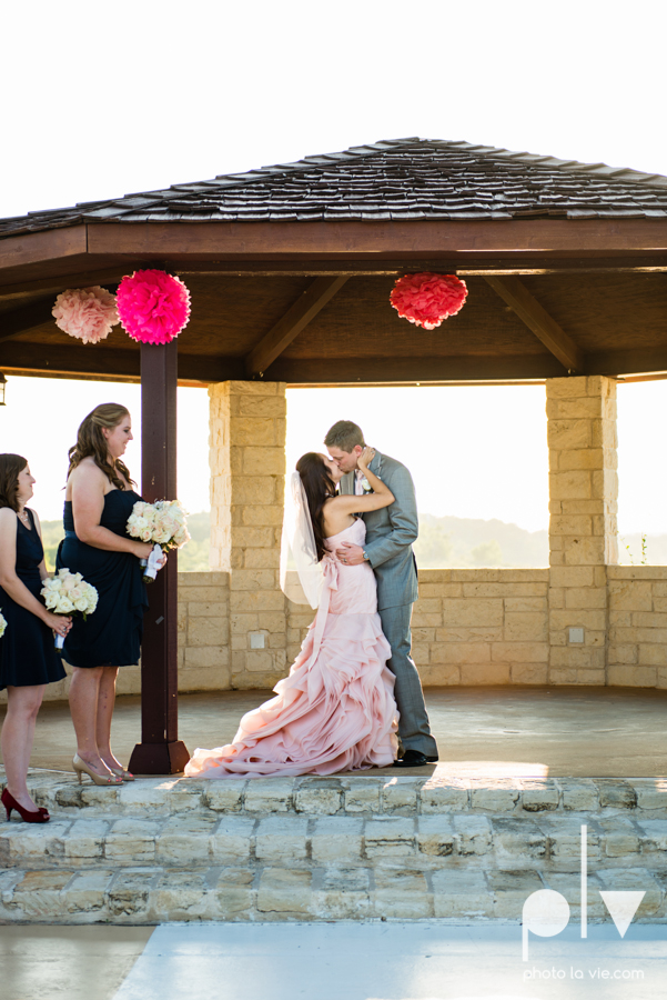 Wedding Summer Paradise Cove Texas DFW pink dress navy outside first look Sarah Whittaker Photo La Vie-35.JPG