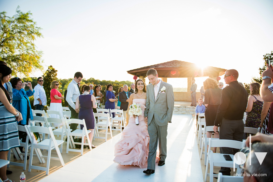 Wedding Summer Paradise Cove Texas DFW pink dress navy outside first look Sarah Whittaker Photo La Vie-36.JPG
