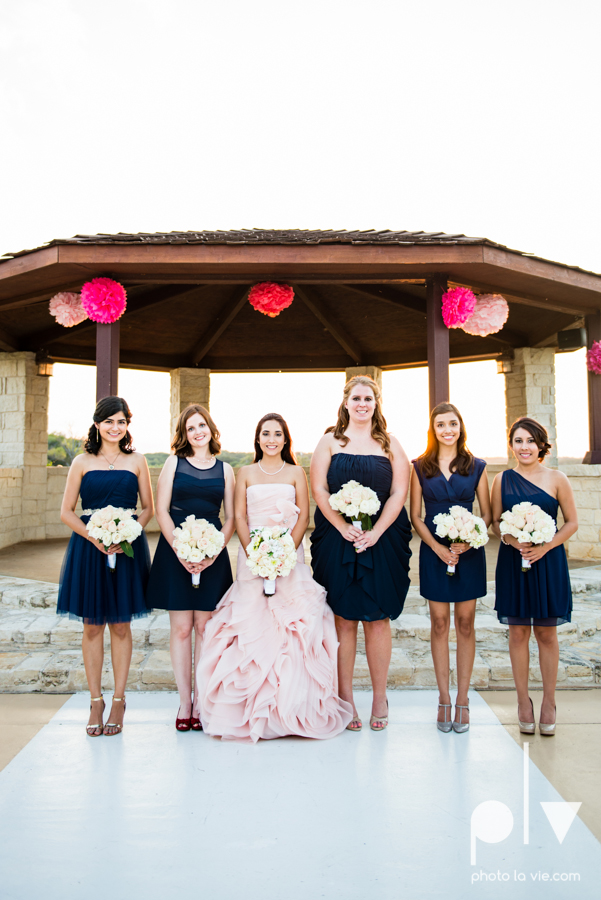 Wedding Summer Paradise Cove Texas DFW pink dress navy outside first look Sarah Whittaker Photo La Vie-38.JPG