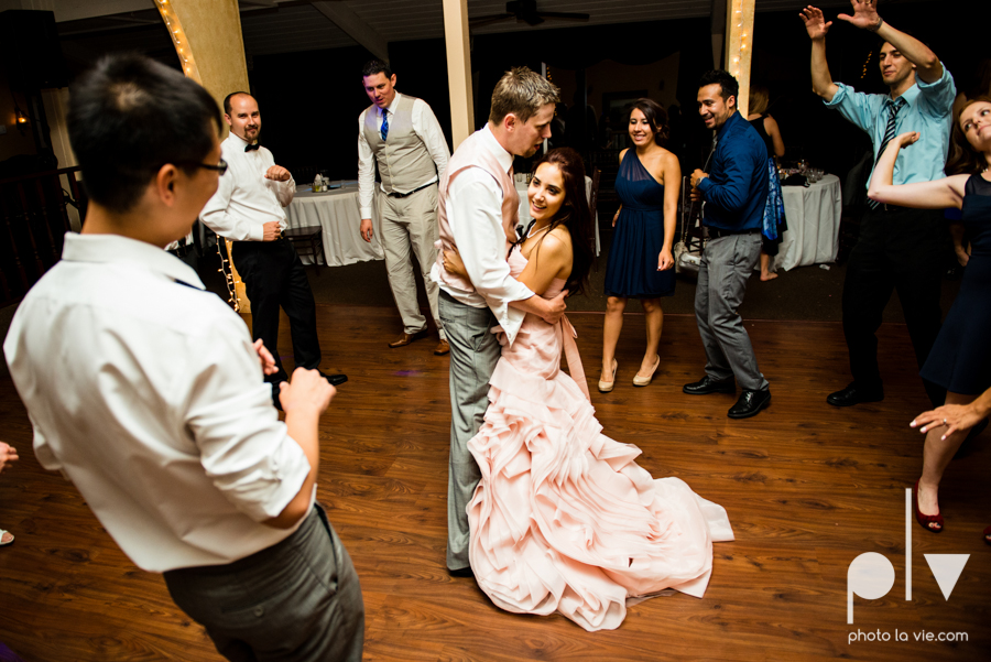 Wedding Summer Paradise Cove Texas DFW pink dress navy outside first look Sarah Whittaker Photo La Vie-69.JPG