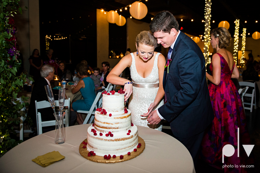Ft Worth Wedding DFW photography 809 Vickery creme cake bridal sequin navy raspberry architecture gown modern industrial food truck Sarah Whittaker Photo La Vie-60.JPG