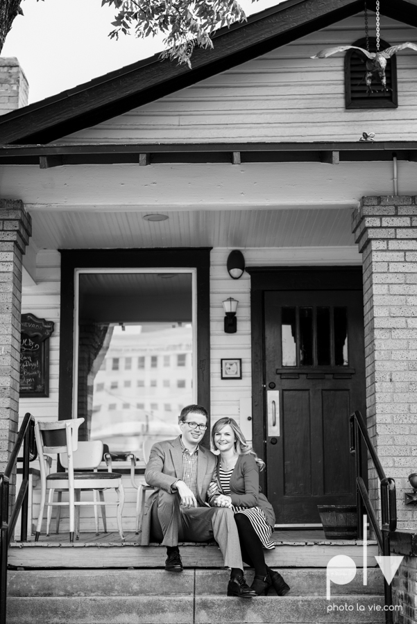 Engagement Fort Worth Texas portrait photography magnolia fall winter red couple Trinity park trees outside urban architecture Sarah Whittaker Photo La Vie-14.JPG