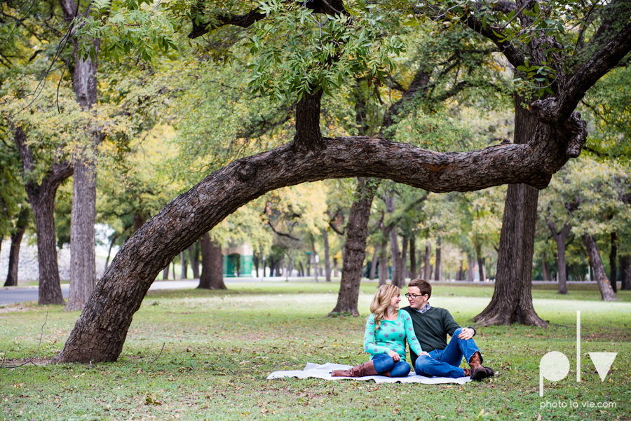 Engagement Fort Worth Texas portrait photography magnolia fall winter red couple Trinity park trees outside urban architecture Sarah Whittaker Photo La Vie-15.JPG