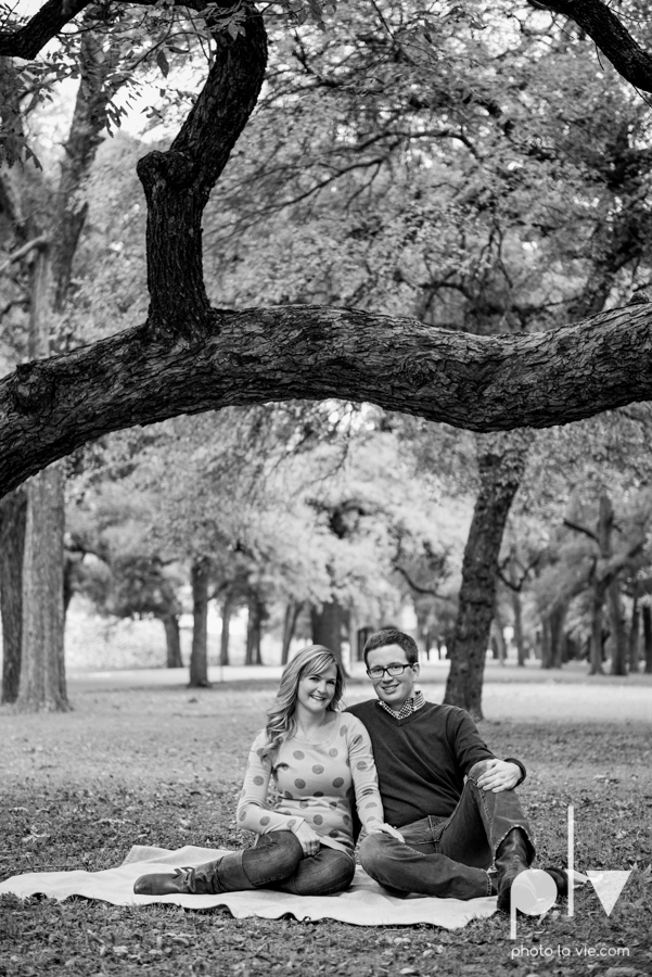 Engagement Fort Worth Texas portrait photography magnolia fall winter red couple Trinity park trees outside urban architecture Sarah Whittaker Photo La Vie-16.JPG