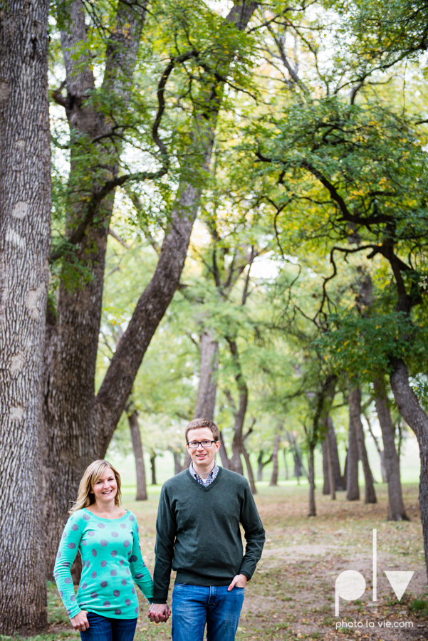 Engagement Fort Worth Texas portrait photography magnolia fall winter red couple Trinity park trees outside urban architecture Sarah Whittaker Photo La Vie-18.JPG