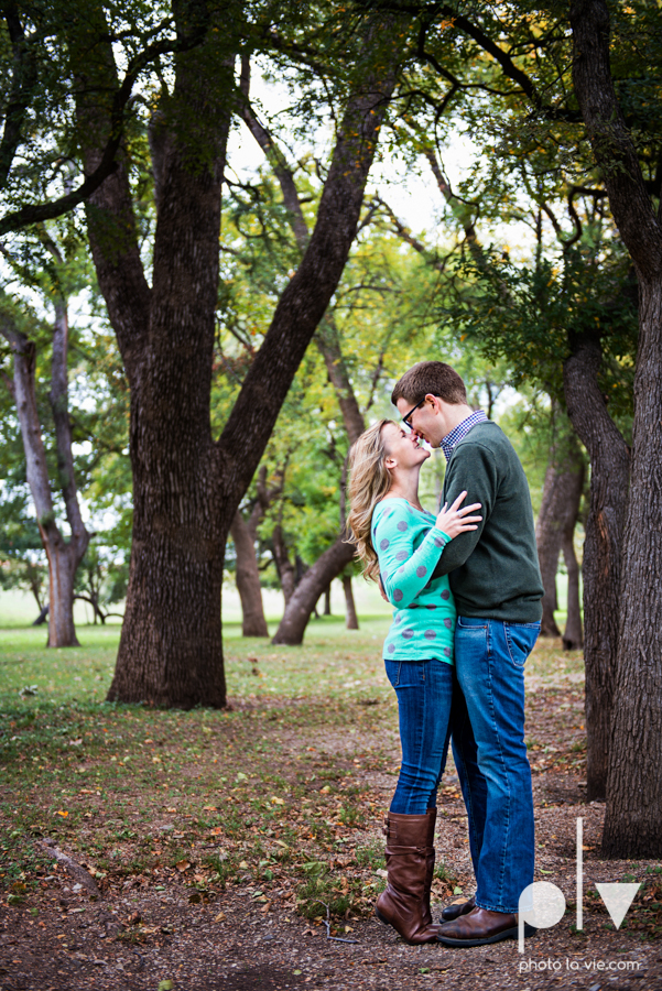 Engagement Fort Worth Texas portrait photography magnolia fall winter red couple Trinity park trees outside urban architecture Sarah Whittaker Photo La Vie-19.JPG