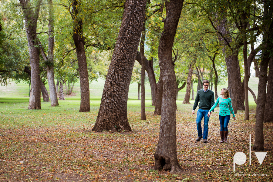 Engagement Fort Worth Texas portrait photography magnolia fall winter red couple Trinity park trees outside urban architecture Sarah Whittaker Photo La Vie-21.JPG