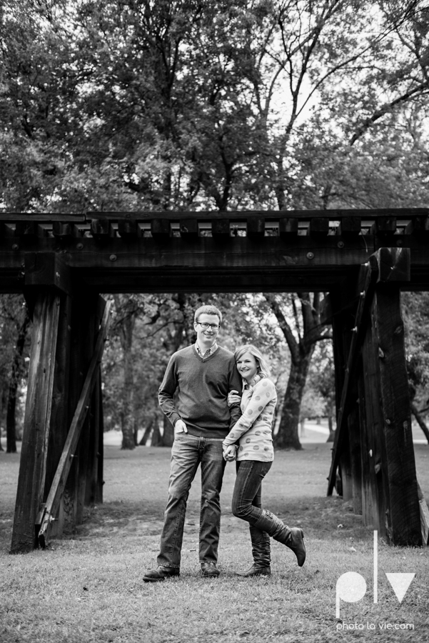 Engagement Fort Worth Texas portrait photography magnolia fall winter red couple Trinity park trees outside urban architecture Sarah Whittaker Photo La Vie-26.JPG