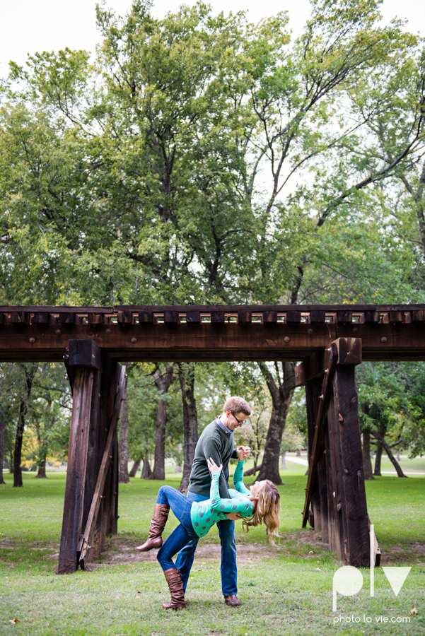 Engagement Fort Worth Texas portrait photography magnolia fall winter red couple Trinity park trees outside urban architecture Sarah Whittaker Photo La Vie-28.JPG