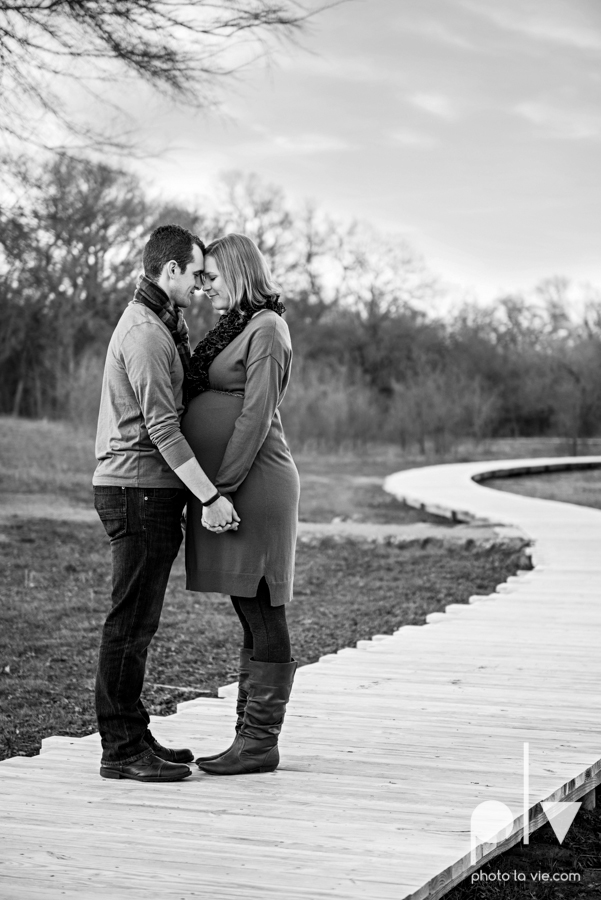 kimball Olive Park Texas DFW maternity mini session photography girl baby bump winter outdoors fall field trees sunset backlit back lighting shoes rings walk sun lens flare Sarah Whittaker Photo La Vie-11.JPG