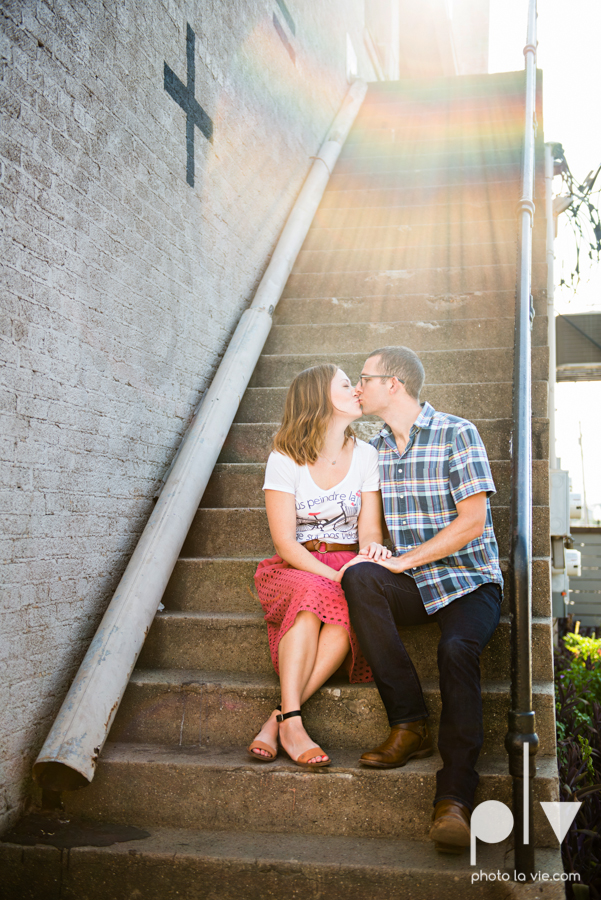 kate jeff engagement photo session dallas texas bishop arts district oak cliff park emporium pies urban walls trees ring french Sarah Whittaker Photo La Vie-10.JPG