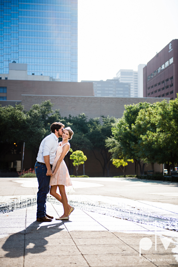 Demi Keith engagement photo session downtown Dallas Texas White Rock Lake summer architecture urban historic trees pier dock modern Sarah Whittaker Photo La Vie-6.JPG