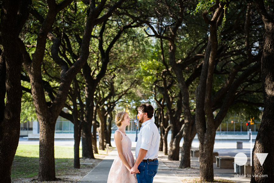 Demi Keith engagement photo session downtown Dallas Texas White Rock Lake summer architecture urban historic trees pier dock modern Sarah Whittaker Photo La Vie-2.JPG