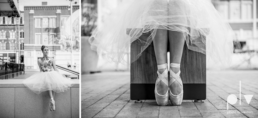 Claire Downtown Fort Worth campus sundance square ballerina ballet pointe garage urban senior dancer Sarah Whittaker Photo La Vie-23.JPG
