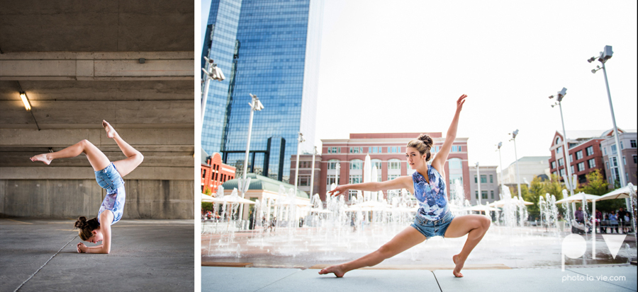 Claire Downtown Fort Worth campus sundance square ballerina ballet pointe garage urban senior dancer Sarah Whittaker Photo La Vie-24.JPG