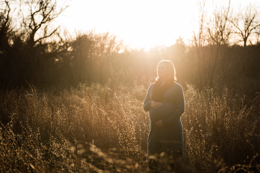 Photo La Vie Sarah Whittaker maternity photographer family photography DFW dallas fort worth arlington Oliver Park couple baby bump blue fall winter modern sunset warm-1.JPG